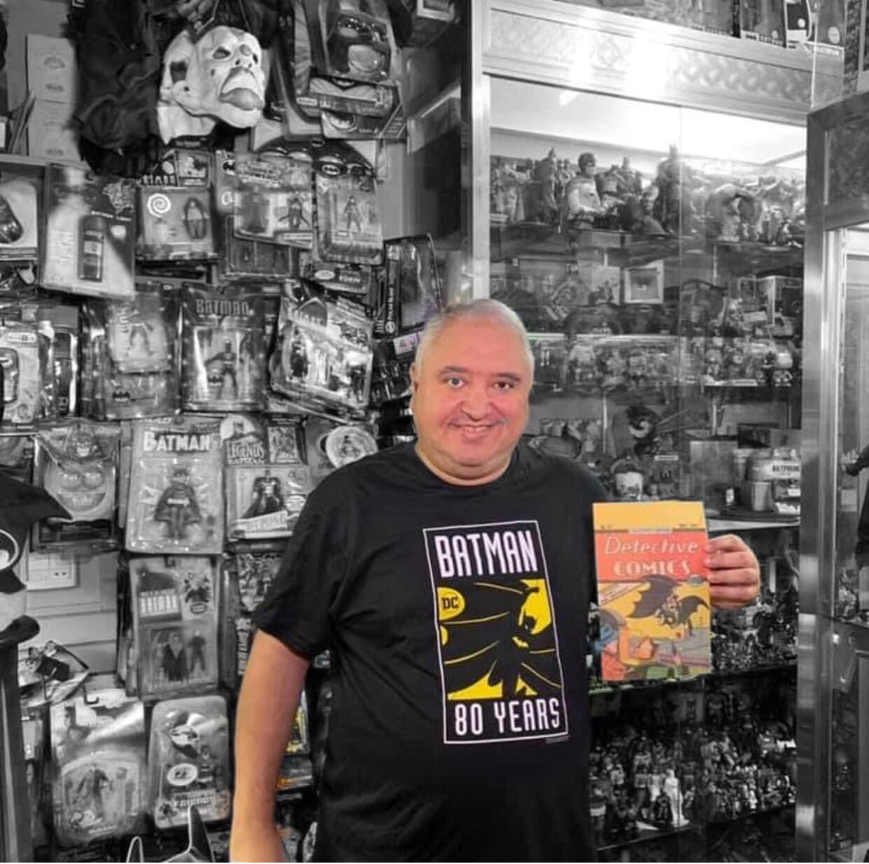 Perdemos um dos maiores colecionadores do mundo, o grande Márcio Escoteiro 3