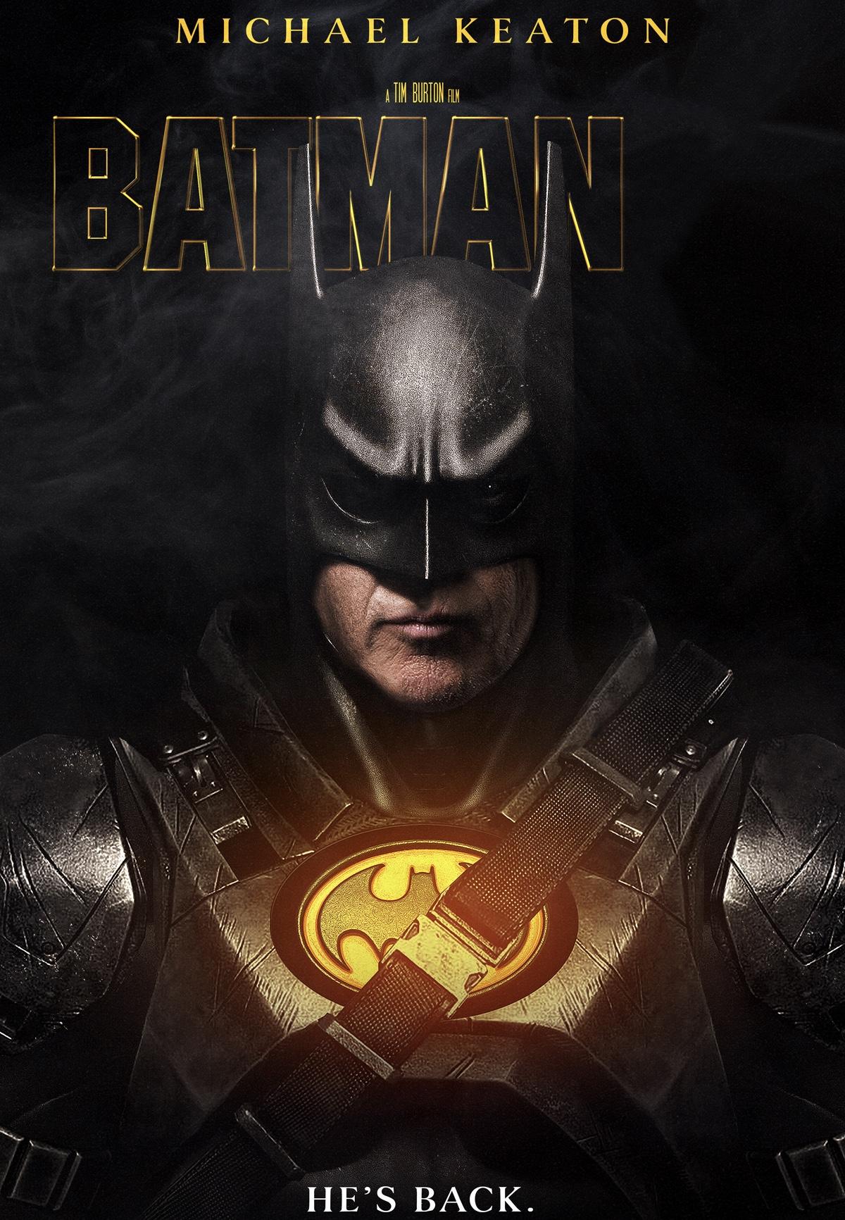 Michael Keaton pode interpretar novamente o Batman no filme do Flash 8