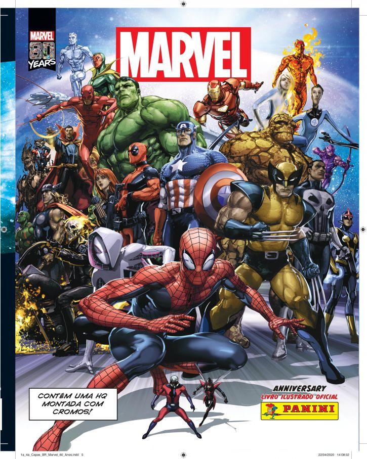 Panini lança livro ilustrado comemorativo aos 80 anos de Marvel 1