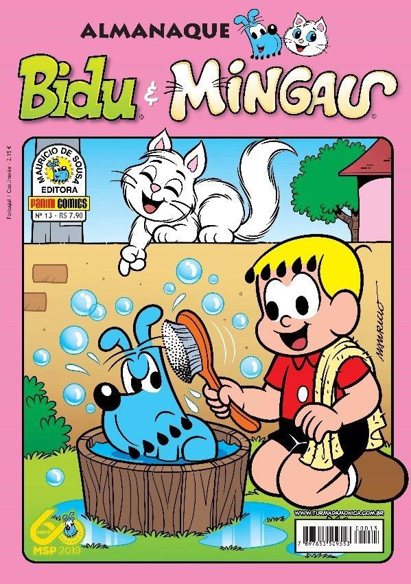 Nova temporada  do Almanaque Bidu & Mingau 3
