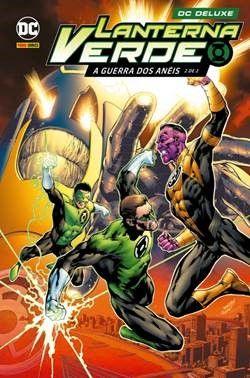 Panini confirma reimpressão de Lanterna Verde: A Guerra dos Anéis volumes 1 e 2 6
