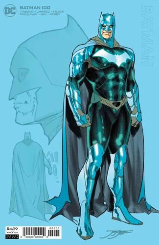 Batman terá um novo uniforme azul para arco nos quadrinhos 3