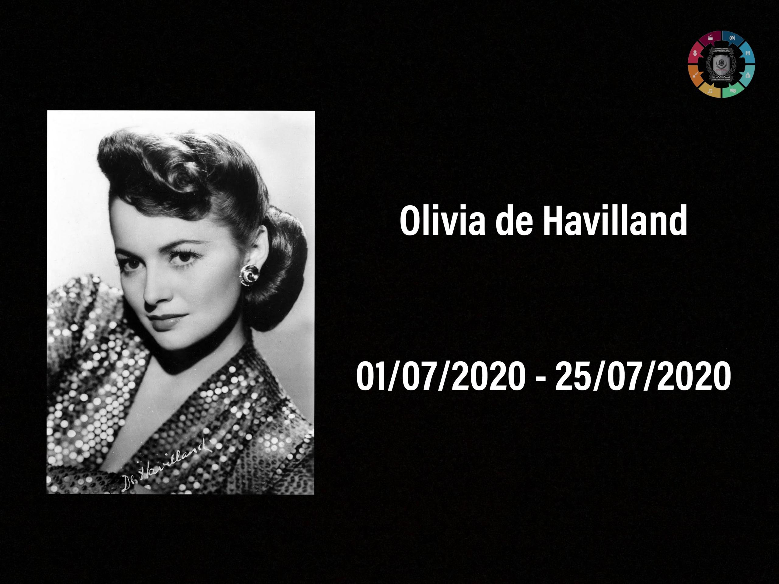 Morreu, aos 104 anos, Olivia de Havilland 3