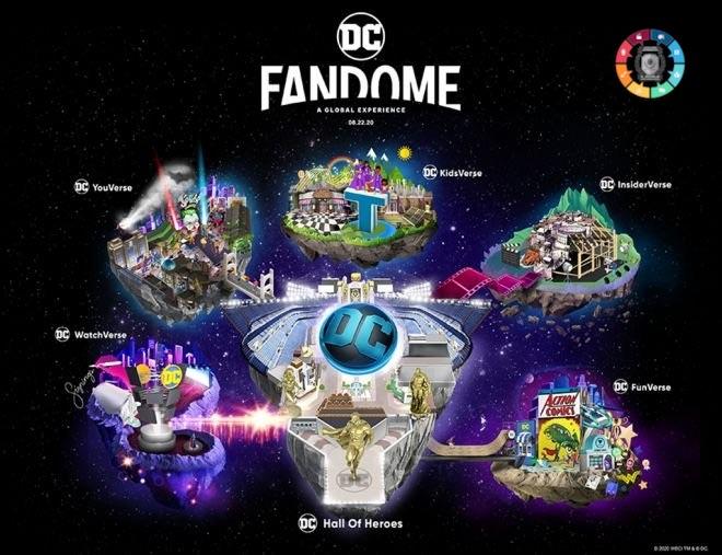 DC anuncia lista completa do DCFanDome 6