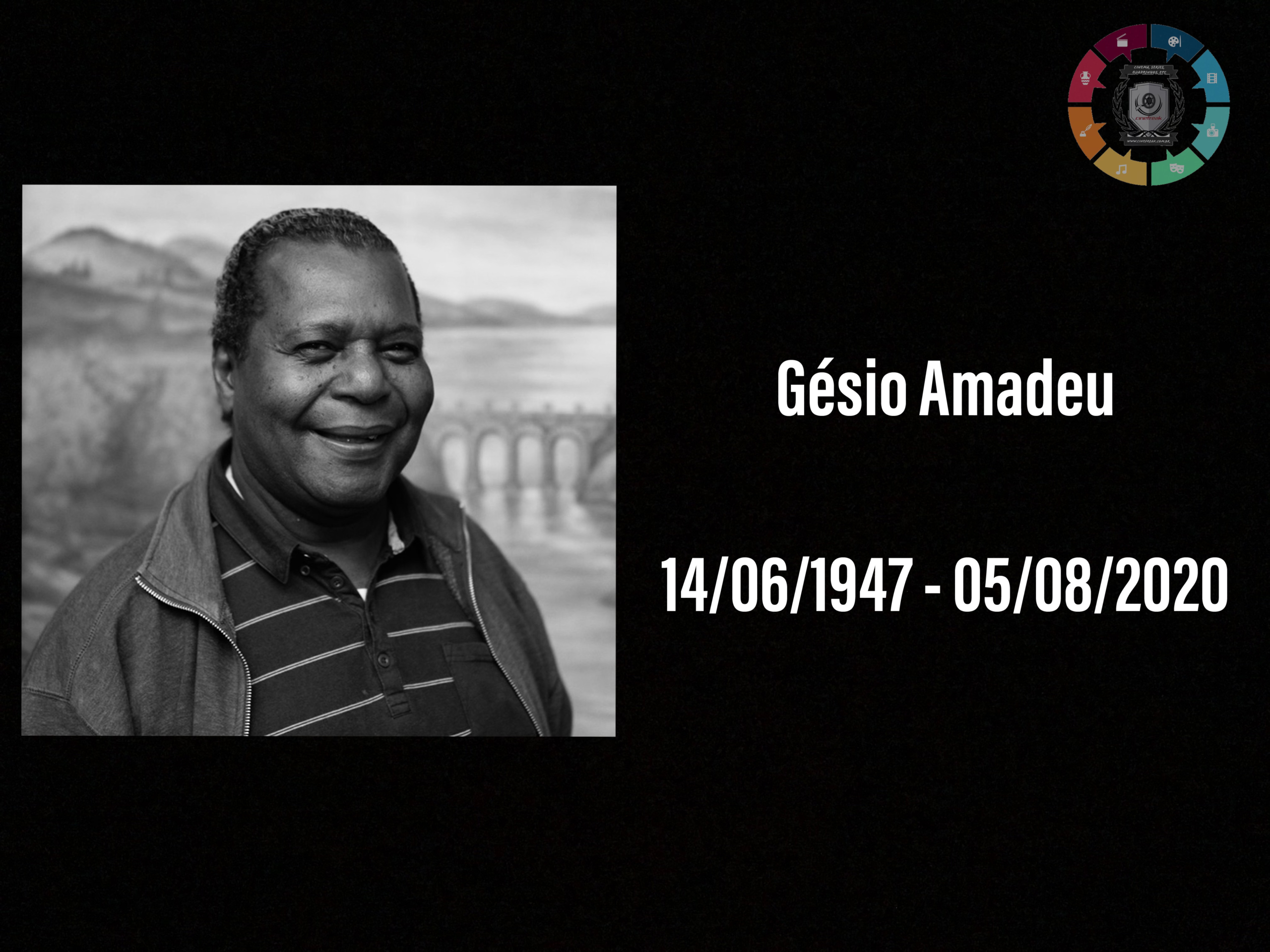 Morre o ator Gésio Amadeu, aos 73 anos, vítima de covid-19 3