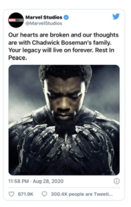 Morre Chadwick Boseman, o Pantera Negra, aos 43 anos 6