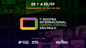 Governo de SP lança 1ª Mostra Internacional de Cinema Virtual 3