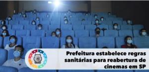 Prefeitura estabelece regras sanitárias para reabertura de cinemas em SP 3