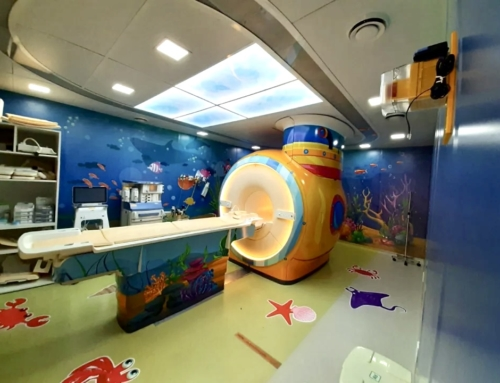 Hospital das Clínicas de SP transforma sala de ressonância para crianças em 'Viagem ao Fundo do Mar'