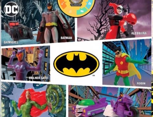 Batman e Mulher-Maravilha 1984 são os brindes do Burguer King em outubro