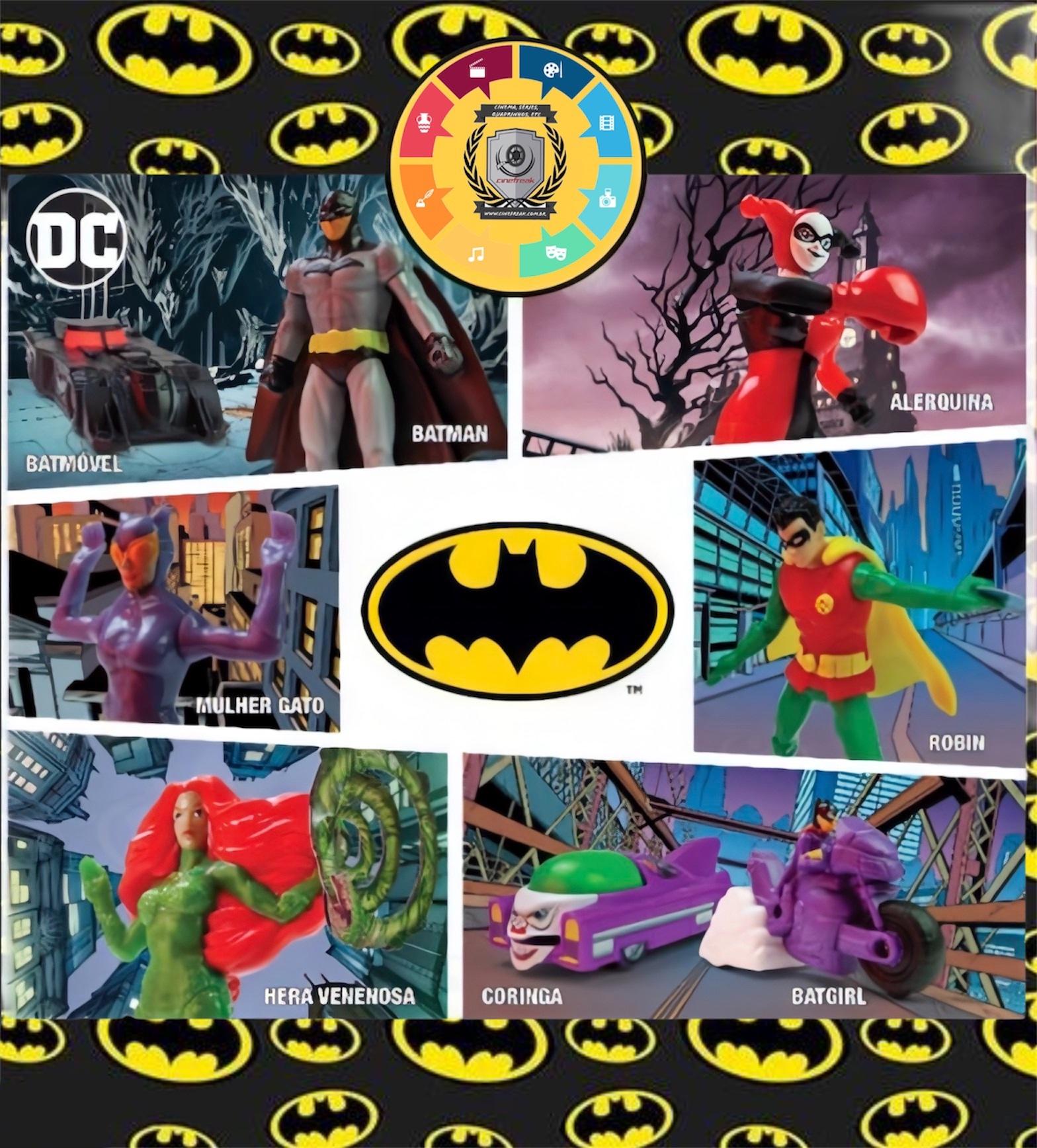 Batman e Mulher-Maravilha 1984 são os brindes do Burguer King em outubro 2