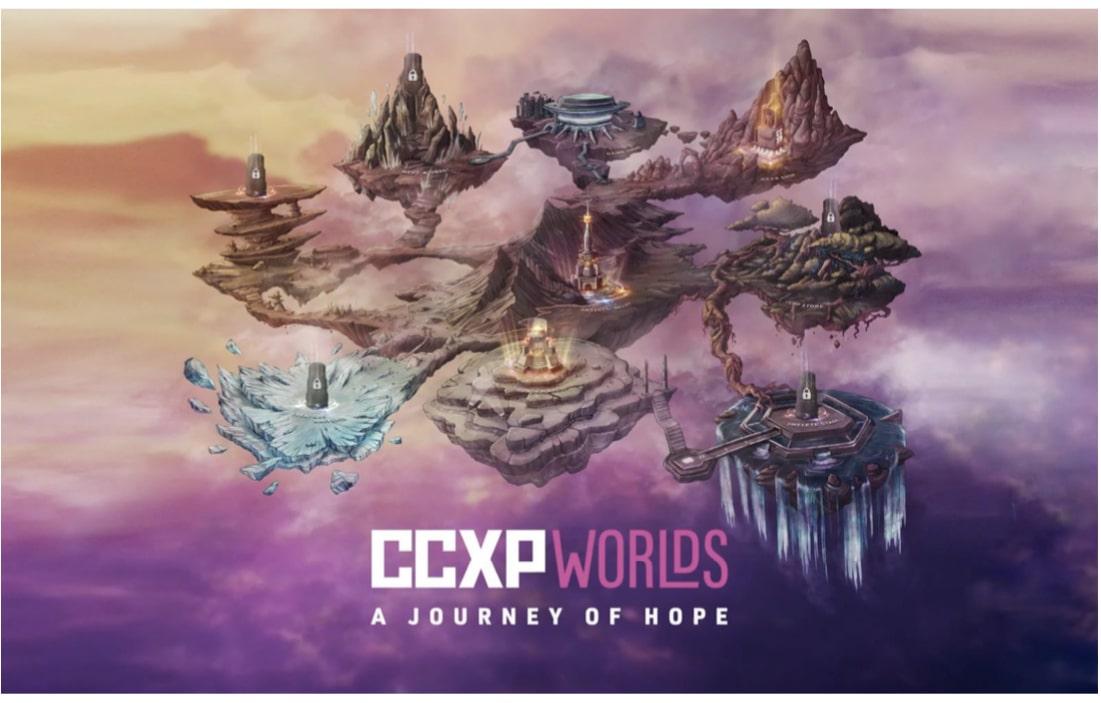 CCXP Worlds: A Journey of Hope confirma conteúdo gratuito, benefícios extras pagos e presença global 10