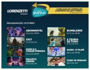 Cine Buzina leva drive-in gratuito ao sambódromo do Anhembi 5