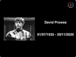 Ator David Prowse, que interpretou fisicamente o Darth Vader, morre aos 85 anos de idade 5