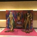 Cine Roxy 6 recebe estátuas da Mulher-Maravilha a partir de 18/12/2020 2