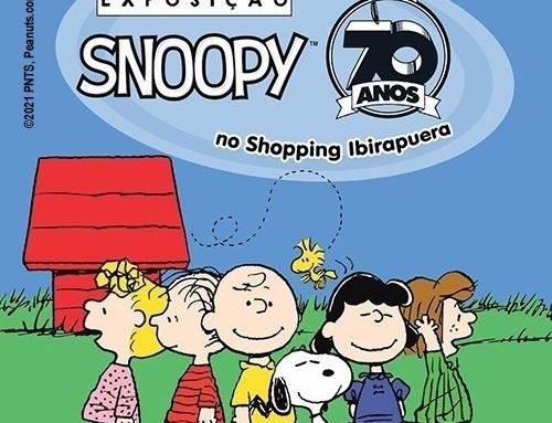 Exposição Snoopy 70 anos