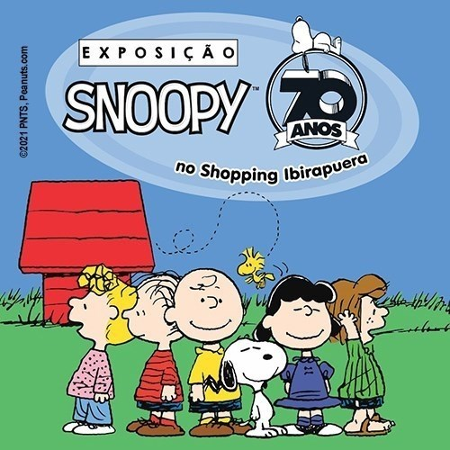 Exposição Snoopy 70 anos 5