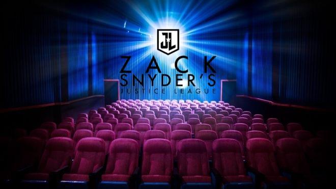 Liga da Justiça de Zack Snyder será exibida nos cinemas 1