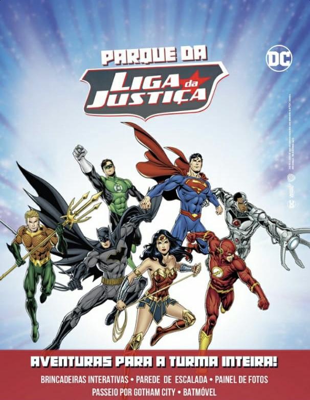 Liga da Justiça chega no Shopping Itaquera 2