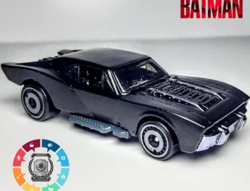 "Batmóvel do filme ""The Batman"" ganha miniatura"