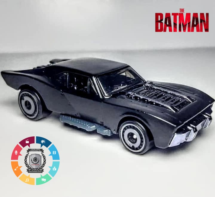 "Batmóvel do filme ""The Batman"" ganha miniatura 1"