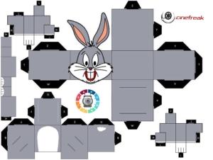 PaperFreak da semana - Bugs Bunny 1