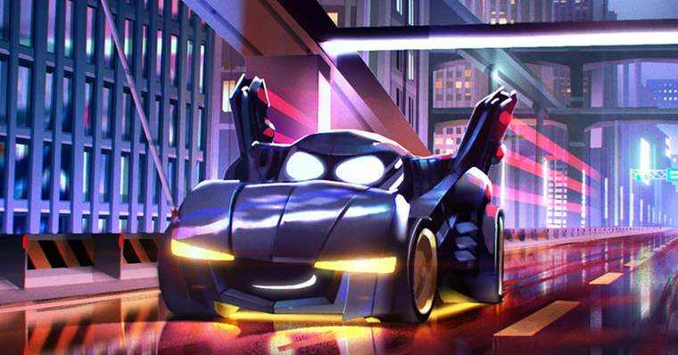 Batmóvel será a estrela de nova série animada 6