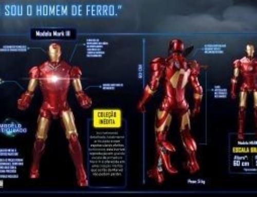 Iron Man: Armadura de Stark ganha réplica colecionável