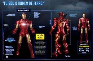 Iron Man: Armadura de Stark ganha réplica colecionável 1