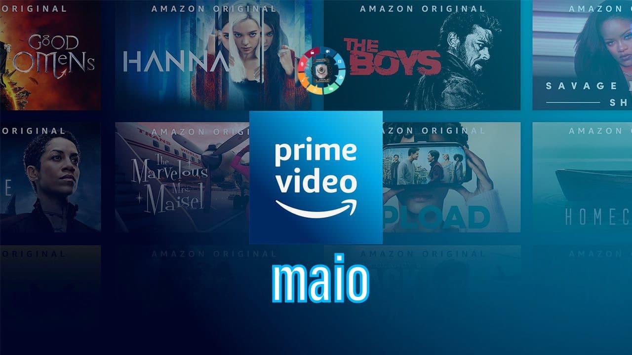Lançamentos na Amazon Prime em maio 2