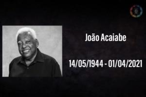 João Acaiabe, ator do Sítio do Pica-Pau Amarelo, morre devido complicações da covid-19 3