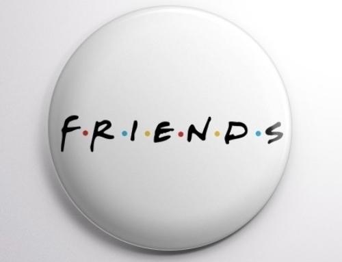 Colecionáveis de Friends chegam ao Bob's