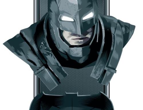 Visual alternativo da armadura de Batman vs Superman