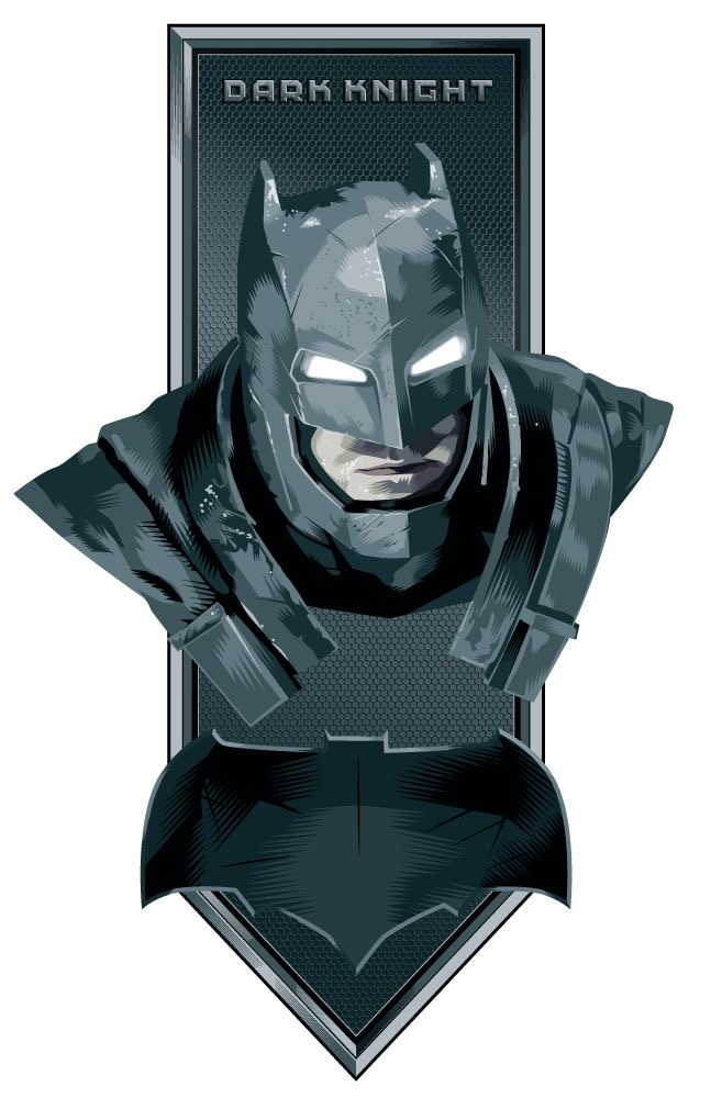 Visual alternativo da armadura de Batman vs Superman 10