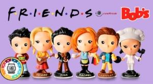Colecionáveis de Friends chegam ao Bob's 3