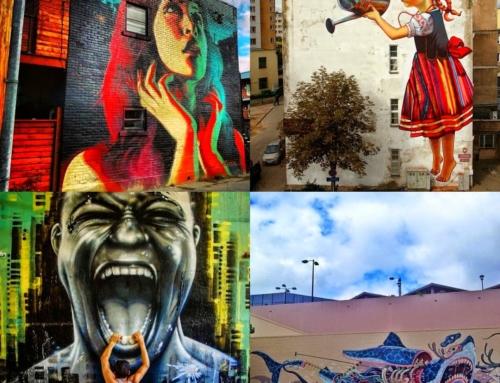 Museu de Arte de Rua traz mais de 100 obras de arte para espaços da capital