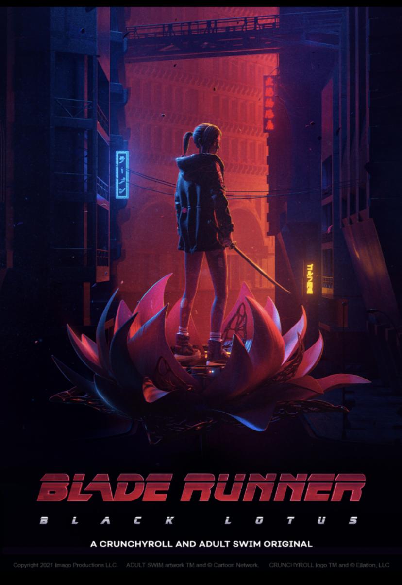 Divulgado o novo trailer e o elenco do anime Blade Runner: Black Lotus 6