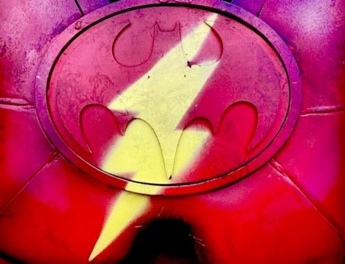 """Vazam imagens conceituais do Batman de Michael Keaton em """"The Flash"""""""