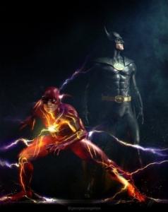 """Vazam imagens conceituais do Batman de Michael Keaton em """"The Flash"""" 7"""
