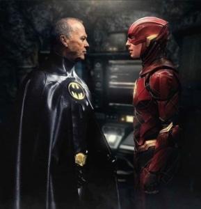 """Vazam imagens conceituais do Batman de Michael Keaton em """"The Flash"""" 12"""