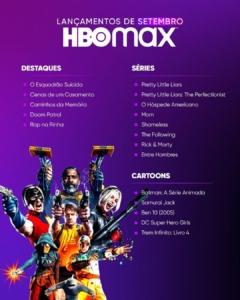 Estreias da HBO Max em setembro 9