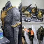 Imagens dos trajes do Adão Negro e Gavião Negro foram divulgadas 4