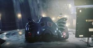 """Imagens de Batmóvel do Batman de Michael Keaton na Batcaverna no filme """"The Flash"""" 8"""