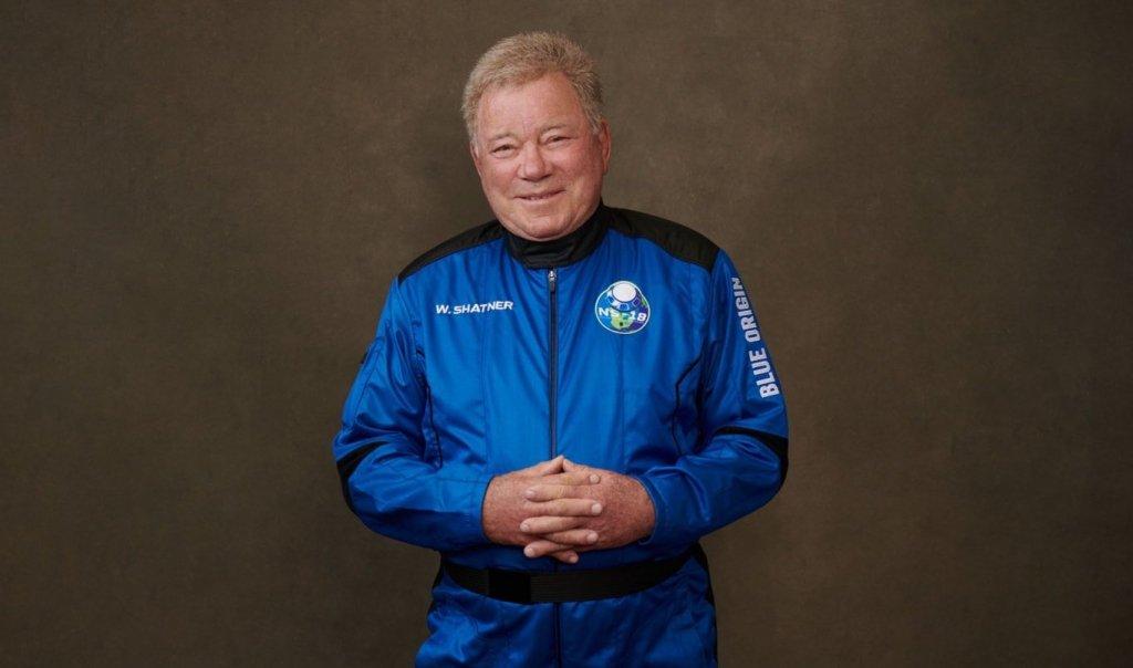 William Shatner, o Capitão Kirk, se torna a pessoa mais velha a ir ao espaço, aos 90 anos 2
